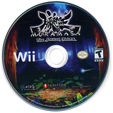 Muramasa: The Demon Blade Wii disc (RSFE7U)