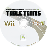 Rockstar Games Presents: Table Tennis Wii disc (RT3E54)