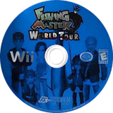 Fishing Master: World Tour Wii disc (RTLE18)