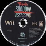 Tenchu: Shadow Assassins Wii disc (RTNE41)