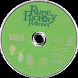 Rune Factory: Frontier Wii disc (RUFEMV)