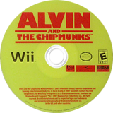 Alvin and the Chipmunks Wii disc (RVBERS)