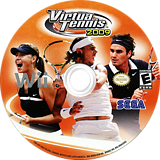 Virtua Tennis 2009 Wii disc (RVUE8P)