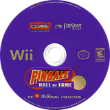 Pinball Hall of Fame: The Williams Collection Wii disc (RWCE4Z)