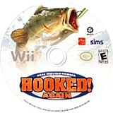 Hooked Again: Real Motion Fishing Wii disc (RXNEXS)