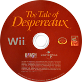The Tale of Despereaux Wii disc (RXRERS)