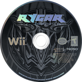 Rygar: The Battle of Argus Wii disc (RYGE9B)