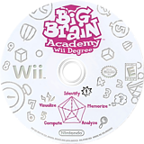 Big Brain Academy: Wii Degree Wii disc (RYWE01)
