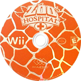 Zoo Hospital Wii disc (RZHE5G)