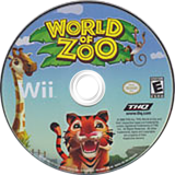 World of Zoo Wii disc (RZOE78)