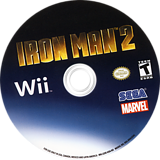 Iron Man 2 Wii disc (S2IE8P)