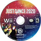 Just Dance 2020 Wii disc (S2UE41)
