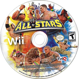 WWE All Stars Wii disc (S2WE78)