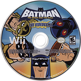 Batman: The Brave and the Bold Wii disc (S3BEWR)