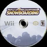 Triple Crown Championship Snowboarding Wii disc (S3CENR)