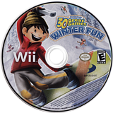 Family Party: 30 Great Games Winter Fun Wii disc (S3WEG9)