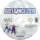 Just Dance 2019 Wii disc (S5EE41)