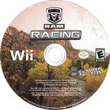 Ram Racing Wii disc (S5RESZ)