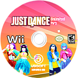 Just Dance Unlimited Party CUSTOM disc (S5UE41)