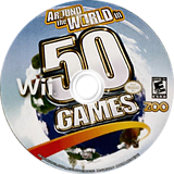 Around The World in 50 Games Wii disc (S5WE20)