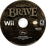 Brave: The Video Game Wii disc (S6BE4Q)