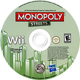 Monopoly Streets Wii disc (S75E69)