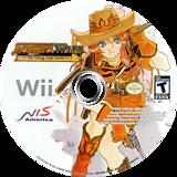 Sakura Wars: So Long, My Love Wii disc (SAKENS)