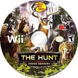 Bass Pro Shops: The Hunt - Trophy Showdown Wii disc (SANEFS)