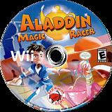 Aladdin Magic Racer Wii disc (SARE4Z)