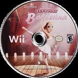 Let's Play Ballerina Wii disc (SBREJJ)
