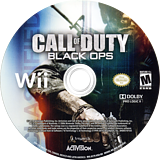 Call of Duty: Black Ops Wii disc (SC7E52)