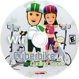 Cyberbike Cycling Sports Wii disc (SCBE5V)