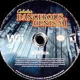 Cabela's Dangerous Hunts 2011 Wii disc (SCDE52)