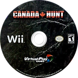 Canada Hunt Wii disc (SCHEQH)