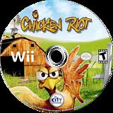 Chicken Riot Wii disc (SCREJH)