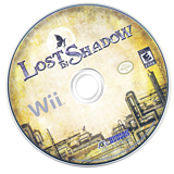 Lost in Shadow Wii disc (SDWE18)