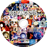 Just Dance 2015 Wii disc (SE3E41)