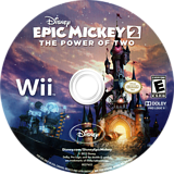 Disney Epic Mickey 2: The Power of Two Wii disc (SERE4Q)