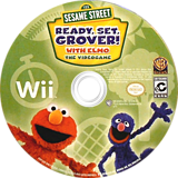 Sesame Street: Ready, Set, Grover! Wii disc (SESEWR)