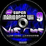 New Super Mario Bros. Wii 9 Virtue: This Fall Darkness CUSTOM disc (SFDE01)