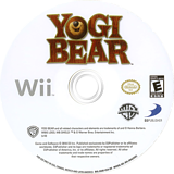 Yogi Bear Wii disc (SG8EG9)