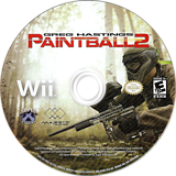 Greg Hastings Paintball 2 Wii disc (SGBE5G)