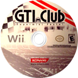 GTI Club Supermini Festa! Wii disc (SGIEA4)