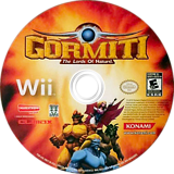 Gormiti: The Lords of Nature! Wii disc (SGLEA4)