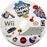 Hasbro: Family Game Night Value Pack Wii disc (SGNE69)