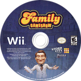 Family Gameshow Wii disc (SGSESZ)