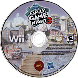 Hasbro: Family Game Night 3 Wii disc (SHBE69)