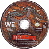How to Train Your Dragon Wii disc (SHDE52)