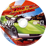 Hot Wheels: Track Attack Wii disc (SHVX78)