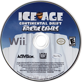 Ice Age: Continental Drift - Arctic Games Wii disc (SIAE52)